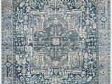 Safavieh Vintage Persian Rug Grey Blue Safavieh Vintage Persian Collection Charcoal and Blue Polyester area Rug 3 X 5