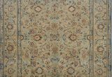 Sage Green area Rug 5×7 All Over Floral Sage Green Kashan Persian area Rug 5×7