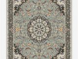 Sage Green area Rug 5×7 the Sima Sage Updates A Traditional Kashan Style Floral Rug