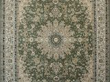 Sage Green Round area Rug Feraghan New City Traditional area Rug 13 X 16 Sage Green