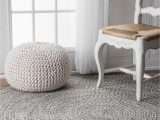 Salt and Pepper area Rug Nuloom 5 X 8 Rectangle area Rugs In Salt and Pepper Finish