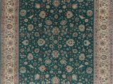 Sam S Club area Rugs 9×12 E Of A Kind All Over 9×12 Green Pak oriental Hand Knotted area Rug Walmart