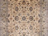 "Sam S Club Large area Rugs Kashan Blue Hand Knotted 12 0"" X 17 8"" area Rug 254"