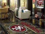 San Francisco 49ers area Rugs San Francisco 49ers area Rug