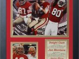 San Francisco 49ers area Rugs San Francisco 49ers Big 3 All Time Framed Memorabili