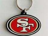 San Francisco 49ers area Rugs San Francisco 49ers Nfl Keychain Football Team Decal Logo Pvc Super Bowl Key Mvp