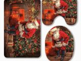 Santa Claus Bathroom Rugs Eczjnt Santa Claus Bring the Sack with Gifts for Christmas