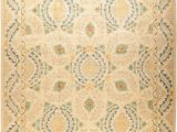 Seaside Collection area Rug Parchment Multi E Of A Kind Devine Hand Knotted Parchment 10 X 14 Wool area Rug