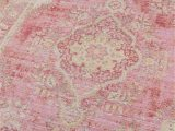 Shabby Chic Style area Rugs Vintage Style Faded Pink area Rug