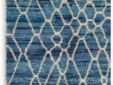 Shades Of Blue Rug Air force Blue Color Moroccan Berber Beni Ourain Design Rug