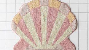 Shell Shaped Bath Rugs Shelly Shaped Bath Mat In 2020