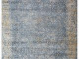 Silver Blue area Rugs Exquisite Rugs Cassina Hand Woven 2547 Blue Silver area Rug