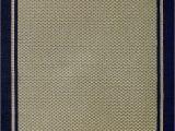 Sisal Rug with Blue Border Furman Collection Sisal Woven Navy Blue Border Rug 9×12 X