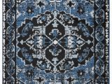 Sky Blue Shag Rug Lr Resources Infinity Black Sky Blue area Rug