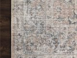"Skye Blush Gray area Rug Skye Maybelle Rug Color Blush Gray Size 7 6"" X 9 6"" In"