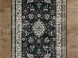 Small area Rugs with Rubber Backing Amazon Deerlux Traditional oriental Persian Style