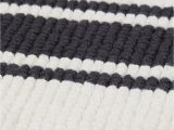 Small Black Bathroom Rug Striped Bath Mat