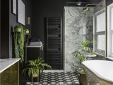 Small Black Bathroom Rug This Black and Gold Bathroom Will Make You Want to