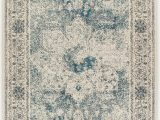 Small Blue area Rugs Traditional Distressed area Rugs 2×3 Door Mat Indoor Blue Small Rugs for Bedrooms and Bathroom