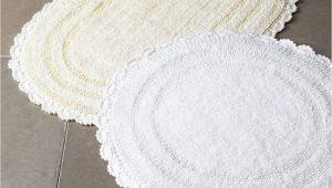Small Oval Bathroom Rugs Cobra Trading Crochet Border Bath Rugs & Matching Items