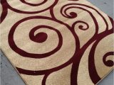 Solid Burgundy area Rugs 8×10 Modern Style Contemporary Rug 8×10 8 X 10 Carpet Rugs Red