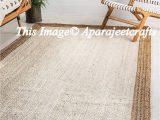 Solid Color area Rugs 6×9 Indian Braided Floor Jute Rug Natural Jute Rug Natural Rug