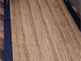 Solid Color area Rugs 6×9 Indian Braided Floor Rug Handmade Jute Rug Natural Jute
