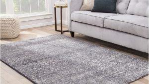 Solid Gray area Rug 8×10 Shop Kensington Handmade solid Dark Gray Light Gray area