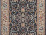 Solid Loomed area Rug Safavieh Blue & orange Traditional area Rug Safavieh