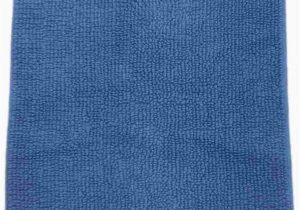 Sonoma Cotton Bath Rugs Amazon sonoma Reversible Blue Plush Pile Throw Rug
