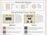 Standard Large area Rug Sizes the Plete Guide to area Rugs