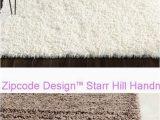 Starr Hill Ivory area Rug Zipcode Design™ Starr Hill Handmade Shag Ivory Rug Safavieh