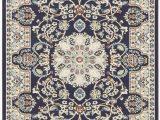 Stuart Blue Beige area Rug astoria Grand Jackson Navy Blue area Rug