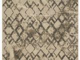 Stuart Blue Beige area Rug Patina Vie Geometric Silk Beige Brown area Rug