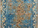Stuart Blue Beige area Rug Superior Non Slip Angeles Indoor area Rug 9 X 12 Navy Blue