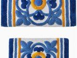 Sunham Home Fashions Bath Rug Sunham Tile Medallion 2 Pc Tufted Bath Rug Set Bedding