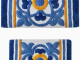 Sunham Home Fashions Bathroom Rugs Sunham Tile Medallion 2 Pc Tufted Bath Rug Set Bedding