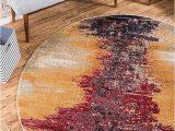 Tampa Bay Buccaneers area Rug Unique Loom Estrella Collection Modern Abstract area Rug 6