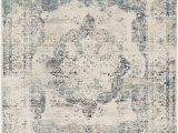 Taupe and Blue Rug Amandeep Distressed Taupe Gray Blue area Rug