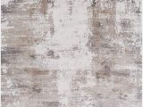 """Taupe and White area Rug Amazon Greencreek Contemporary Abstract 9 6"""" X 13"""