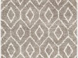 Taupe and White area Rug Surya Seren I Shag Sgt 2303 area Rugs