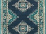 Teal and Blue Rug Teal and Navy Eveline Rug area Rugs Rugs Blue area Rugs