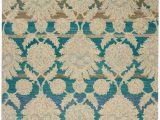 Teal and Ivory area Rugs Nourison India House Ih91 Ivory Teal area Rug