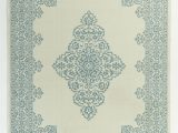 Teal and Ivory area Rugs Zellers Teal Indoor Outdoor area Rug