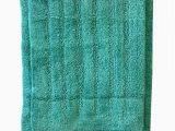 Teal Bath Rug Set 2 Piece Cotton Bath Rug Set Bathroom Mat Ultra Absorbent Machine Washable