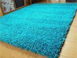 Teal Blue Shaggy Rug Groundlevel Shaggy Rug In Choice Of Colour 60×110 Cm