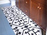 The Big One Bath Rug How to Sew Two Small Rugs to Her to Make A Custom Runner