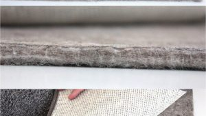 """Thick Carpet Pad for area Rugs Felt Rug Pad 3 8"""" Thick for area Rug On Hardwood Floors"""