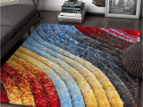 Thick Plush area Rugs 8×10 Amazon Com Well Woven Maura Multi Geometric Stripes Thick