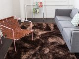 Thick Plush area Rugs 8×10 Shimmer Shag Tuape solid Plain Modern Luster Ultra Thick